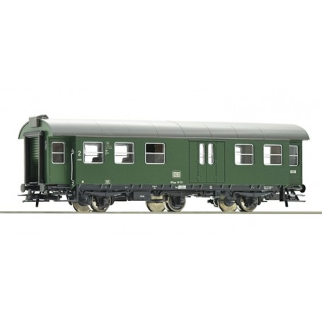 Roco 00106 Personvagn 2:a klass med baggageavdelning BD3yge 99 713 typ DB
