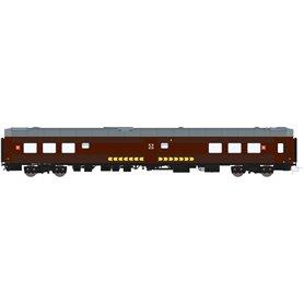 HNoll HN.1411DC Restaurangvagn R4 5441 SJ Brun