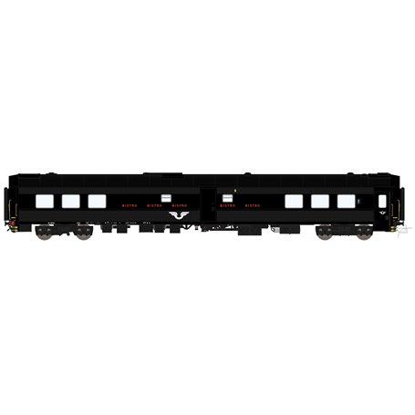 "HNoll HN-1442DC Restaurangvagn SJ S12 5448 Svart ""Bistro"""
