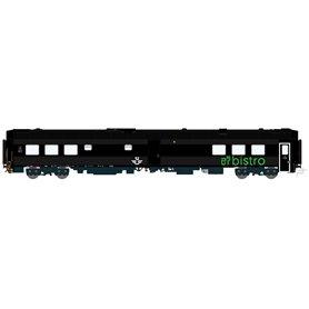 HNoll HN.1443DC Restaurangvagn SJ RB11 5447 Svart