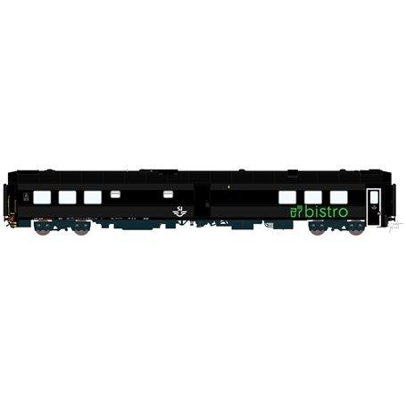 HNoll HN-1443DC Restaurangvagn SJ RB11 5447 Svart