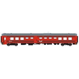 HNoll HN.1461AC Restaurangvagn SJ R4 5453 Röd