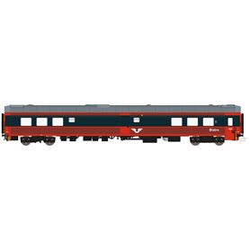 HNoll HN.1462AC Restaurangvagn SJ R4 5454 Röd/Mörkgrå