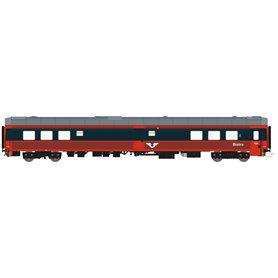 HNoll HN.1462DC Restaurangvagn SJ R4 5454 Röd/Mörkgrå