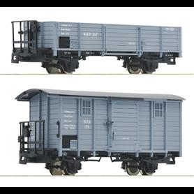 Roco 34559 Vagnsset med 2 godsvagnar typ RüKB