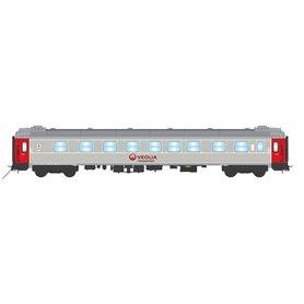 """NMJ 203710 Personvagn 1/2:a klass AB3K 4870 """"Veolia Transport"""""""
