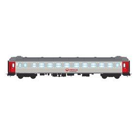 "NMJ 204701 Personvagn 2:a klass B1K 5099 ""Veolia Transport"""