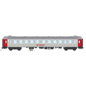"NMJ 204702 Personvagn 2:a klass B1K 5100 ""Veolia Transport"""