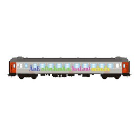 """NMJ 204704 Personvagn 2:a klass B1K 5100 """"Snälltåget"""""""