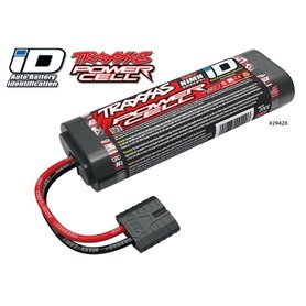 Traxxas 2942X Drivackpaket NiMH Batteri 7,2V 3300mAh Series 3 iD-kontakt