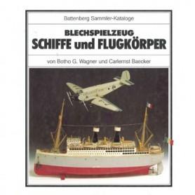 """Media BOK56 Blechspielzug """"Schiffe und Flugkörper"""""""