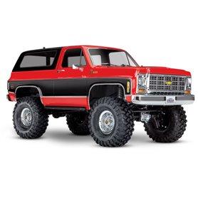 Traxxas 82076-4-RED TRX-4 Chevy Blazer 1/10 Röd RTR