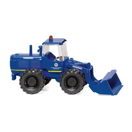 Wiking 65109 THW - wheel loader (Hanomag)