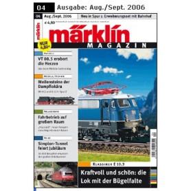 Märklin 103218 Märklin Magazin 4/2006