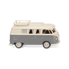 Wiking 79724 VW T1 Camping bus pearl white/ grey