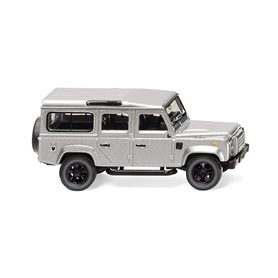 Wiking 10203 Land Rover Defender 110 - silver-metallic