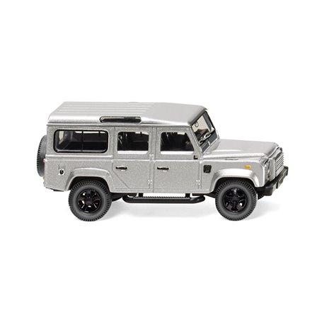 Wiking 10203 Land Rover Defender 110 - silver-metallic