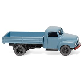 Wiking 35201 Flatbed lorry (Opel Blitz) pastel blue