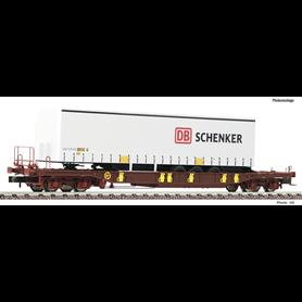 """Fleischmann 825050 Flakvagn T3 AAE med last av trailer """"DB Schenker"""""""