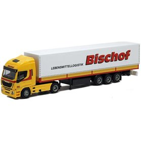 "AMW 75418 Bil & Trailer Iveco HiWay Aero ""Bischof"""