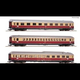 "Roco 74135 Vagnsset med 3 personvagnar typ DB ""Rheingold"""