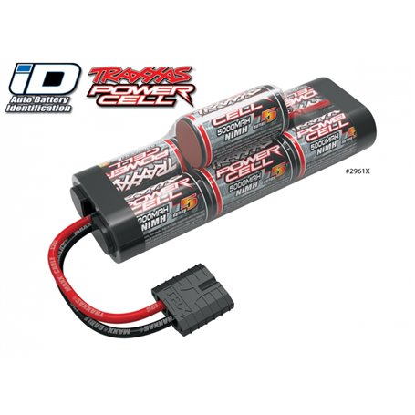 Traxxas 2961X Drivackpaket NiMH Batteri 8,4V 5000mAh Series 5 Hump iD-kontakt