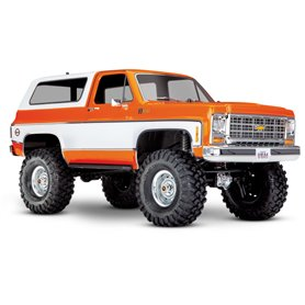 Traxxas 82076-4-OR TRX-4 Chevy Blazer 1/10 Orange RTR