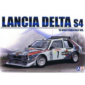 """Aoshima 24020 Lancia Delta S4 86 Monte Carlo """"Markku Alén/Kivimäki, Henri Toivonen/Cresto"""""""