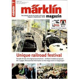 Märklin 331045 Märklin Magazin 4/2019 Engelska