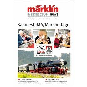 Märklin INS42019 Märklin Insider 04/2019, magasin från Märklin, 23 sidor, tyska