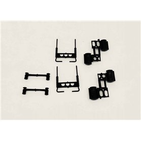 Promotex 5501 Tractor Accessories - Black (2 Sets)