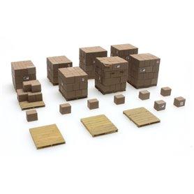 Artitec 387235 Sats med lådor/pallar