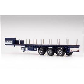"""VK Modelle 02382 Ballasttrailer 3-axlig """"Wasel"""""""
