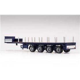 """VK Modelle 02482 Ballasttrailer 4-axlig """"Wasel"""""""