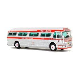 "VK Modelle IR-0148 Buss 1959 GM PD4104 Motorcoach ""Trailways - Thru Liner"""