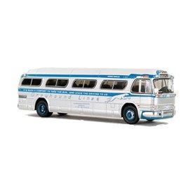 "VK Modelle IR-0149 Buss 1959 GM PD4104 Motorcoach ""Greyhound Blue Scheme - Minneapolis"""