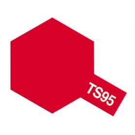 """Tamiya 85095 Sprayfärg TS-95 """"Pure Metallic Red"""", innehåller 100 ml"""