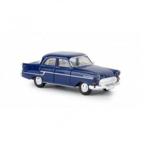 Brekina 20881 Opel Kapitän 1956, blå, TD