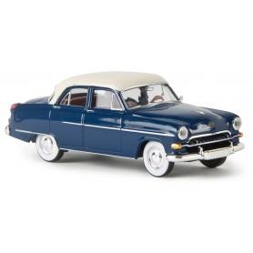 Brekina 20864 Opel Kapitän 1954, safirblå|vit, TD