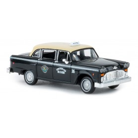 Brekina 58927 Checker Cab 'Dallas' Von Drummer