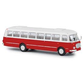 Brekina 58251 Buss Skoda 706 RTO, vit/röd