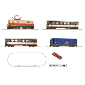 Roco 31033 z21 start Digitalset: Electric locomotive 1099.014-1 with bicycle wagon, ÖBB