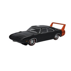 Oxford Models 129450 Dodge Charger Daytona 1969 Black