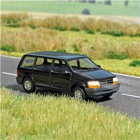 Busch 5657 Chrysler Voyager med belysning, med kabel, 14-16V DC eller AC