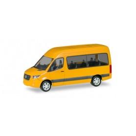 Herpa 093804-002 Mercedes-Benz Sprinter `18 Bus HD, yellow