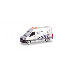 Herpa 094948 Mercedes-Benz Sprinter box truck 'Mercedes-Benz 24h Service'
