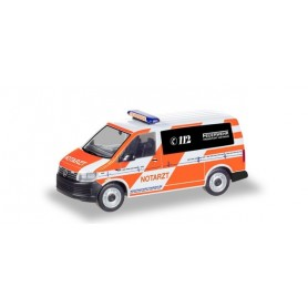Herpa 094986 VW T6 emergency 'Fire brigade Frankfurt|Main'