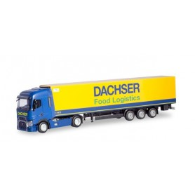 Herpa 310970 Renault T refrigerated box semitrailer 'Dachser'