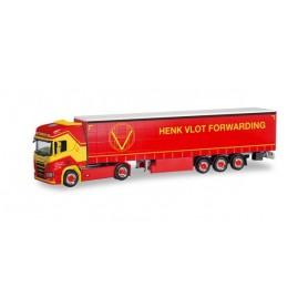 Herpa 310987 Scania CS 20 HD curtain canvas semitrailer ?Henk Vlot?
