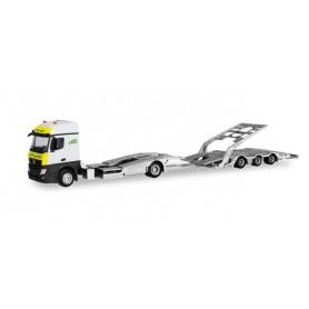 Herpa 311083 Mercedes-Benz Actros Streamspace truck transporter Trailer 'ARS'